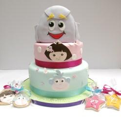 Dora Cake & Cookies