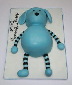 Toy Dog Cake