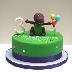 Barney Birthday Cake