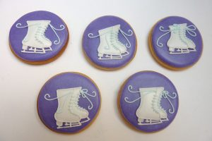 Ice Skating biscuits