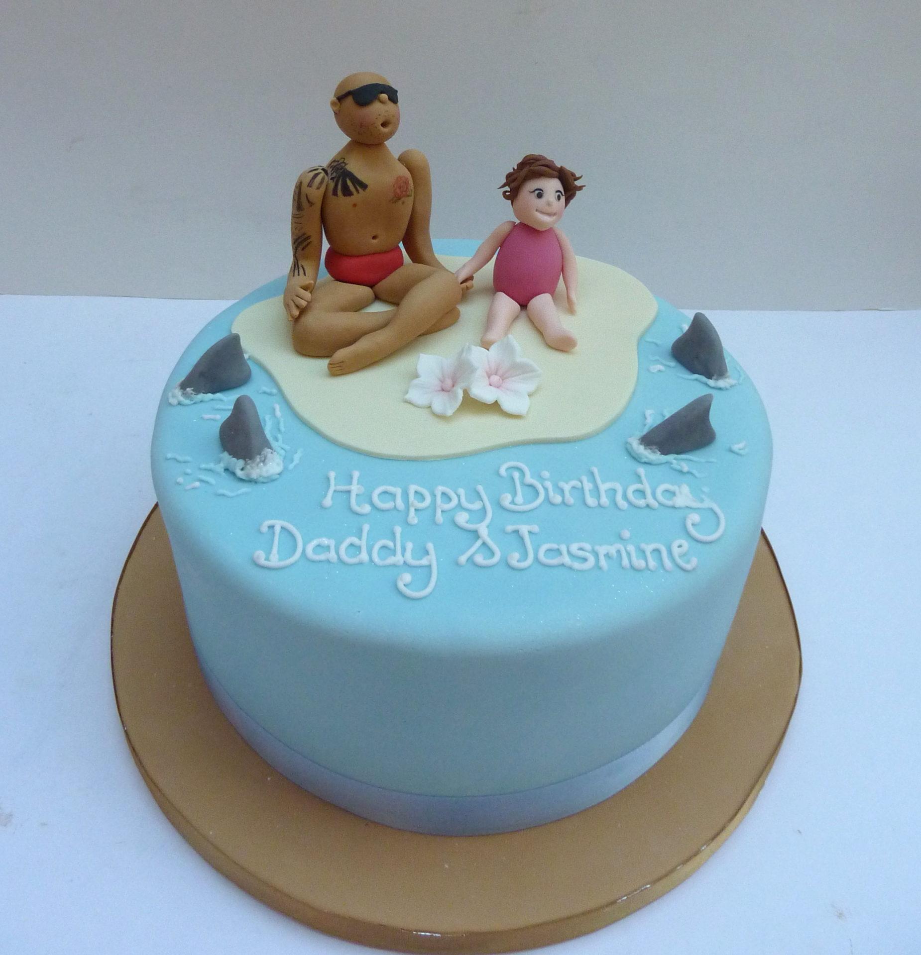 Beach Cake Etoile Bakery