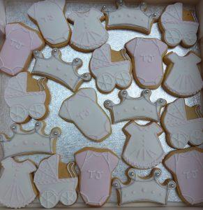 Bespoke Baby Shower Biscuits