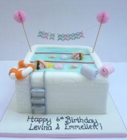 Swimming Cake