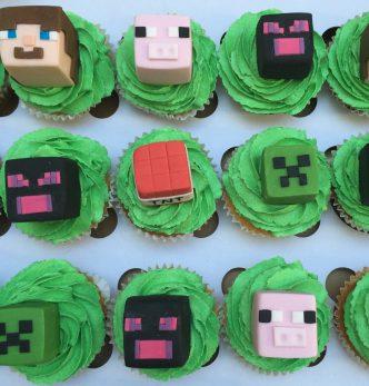 Minecraft Cupcakes