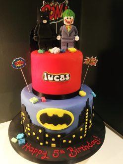 Batman and Joker Wedding Cake