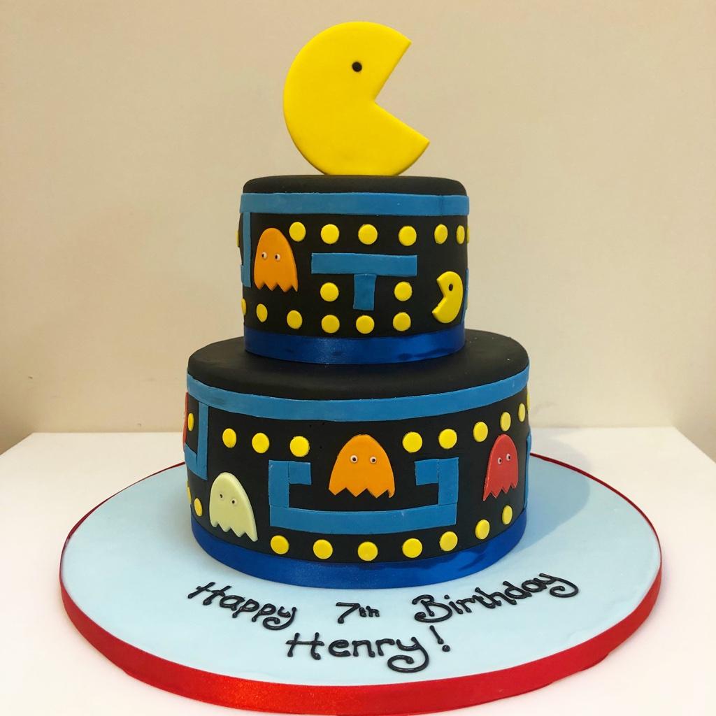 Pac Man Birthday Party Ideas Cakes Collection Big Fashion Closet