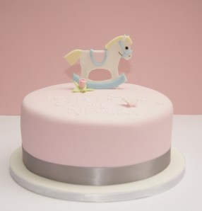 Rocking Horse Birthday cake