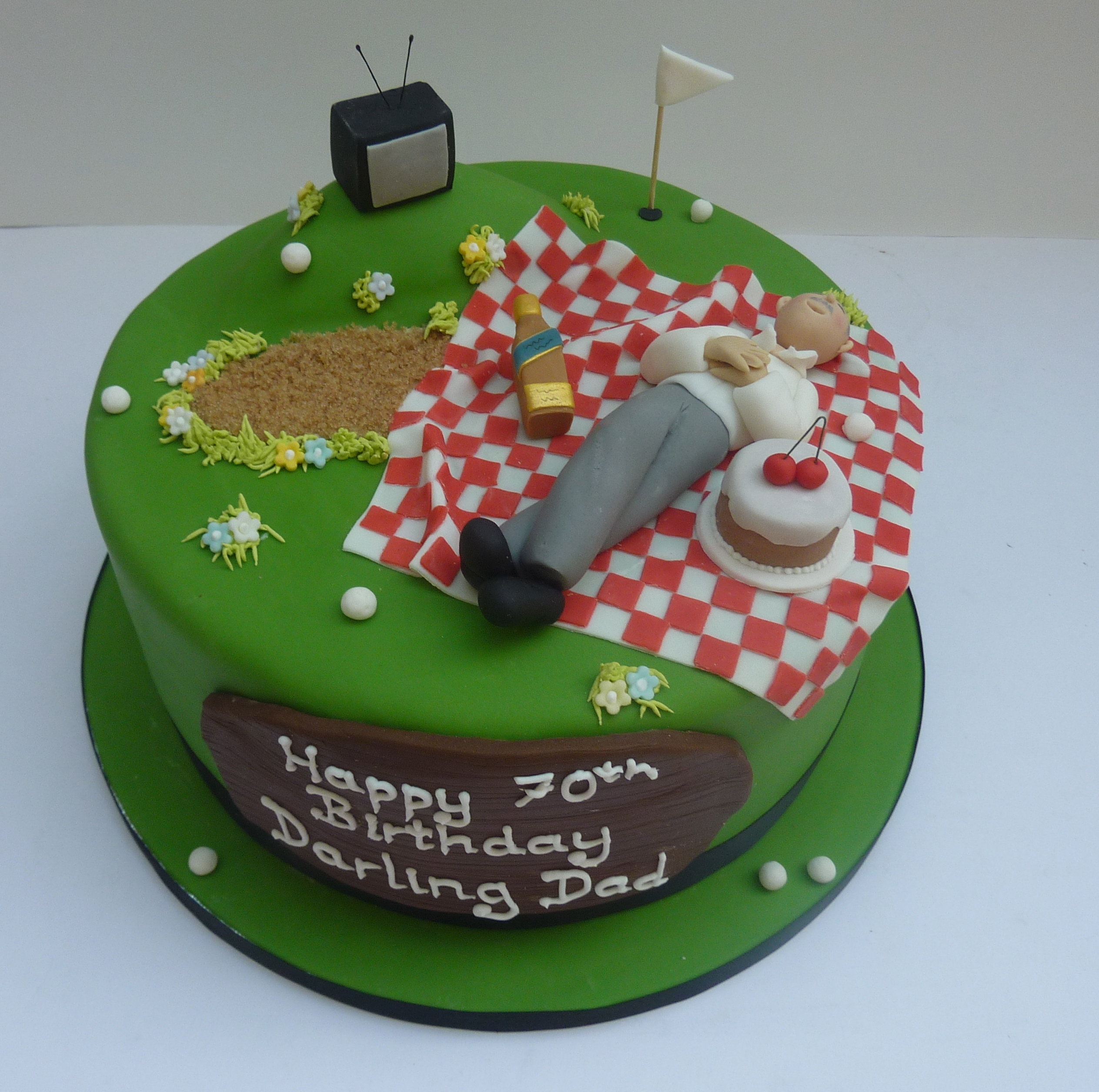 Men S 70th Birthday Cake