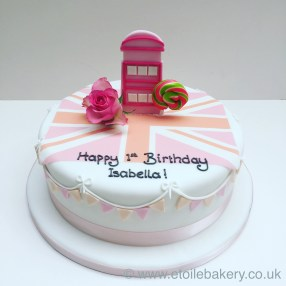 Girlie London Cake