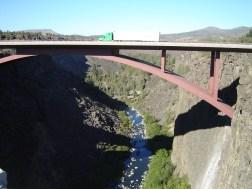 Red Bridge in Central Oregon