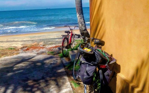 Why do I travel on my bicycle?