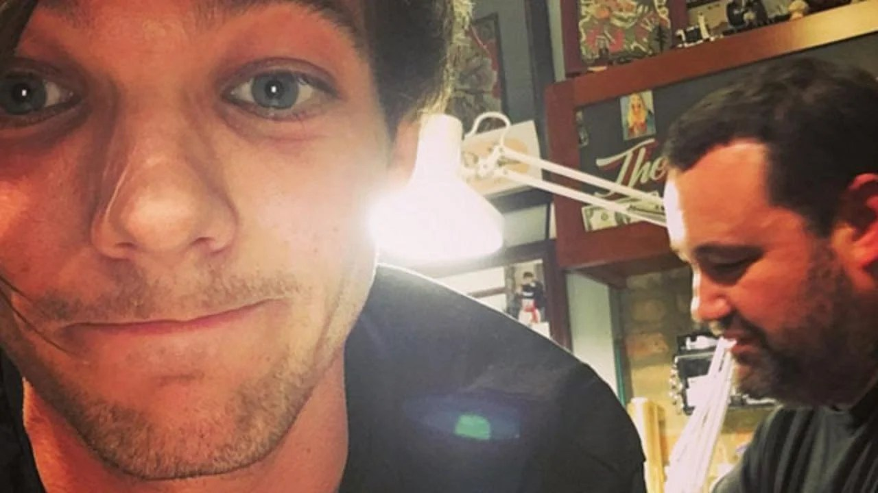 Louis Tomlinson Got A New Birthday Tattoo -- And It Might