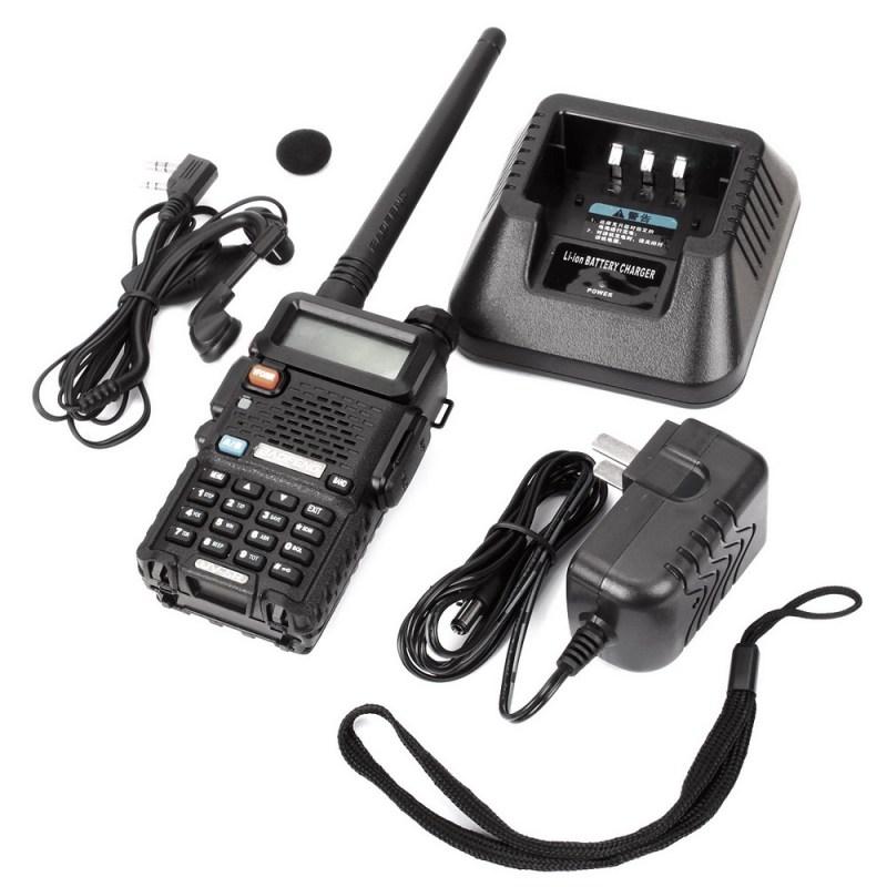 BAOFENG UV-5R VHF/UHF Dual Band Two Way Ham Radio Transceiver Walkie Talkie 17