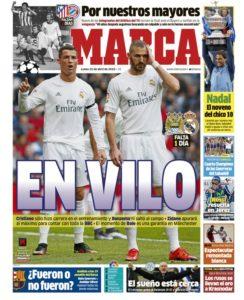 صحف مدريد الاثنين 25-4-2016 ماركا