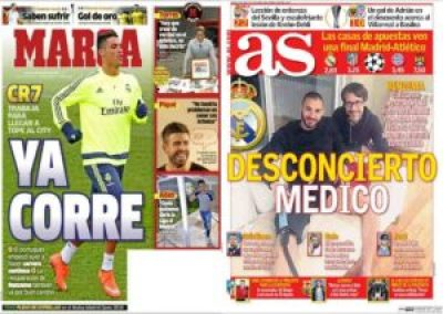 صحف مدريد الجمعة 29-4-2016