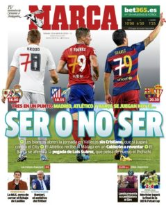 صحف مدريد السبت 23-4-2016 ماركا