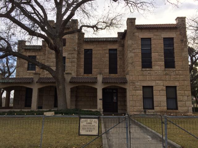 L'ancienne prison de Fort Stockton