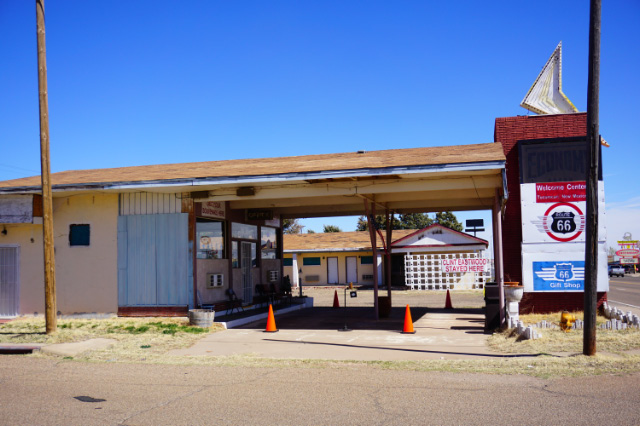Une ancien établissement de la Route 66