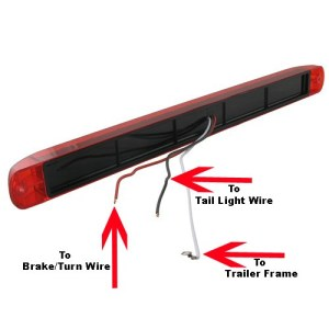 Can 3 Function LED Light STL79RB Be Used for Stop, Turn, and Tail Lights on Both Sides of