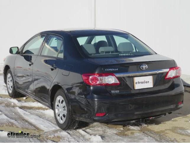 2013 Toyota Corolla Trailer Hitch