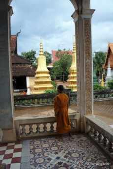 Buddhist monk, Siem Reap, Cambodia