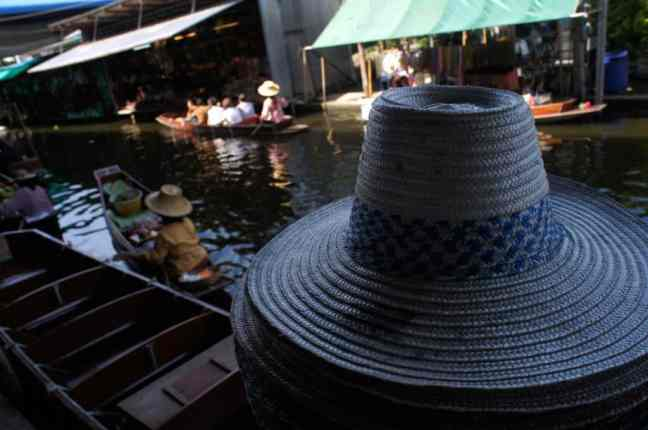 Hat, Floating Market, Bangkok