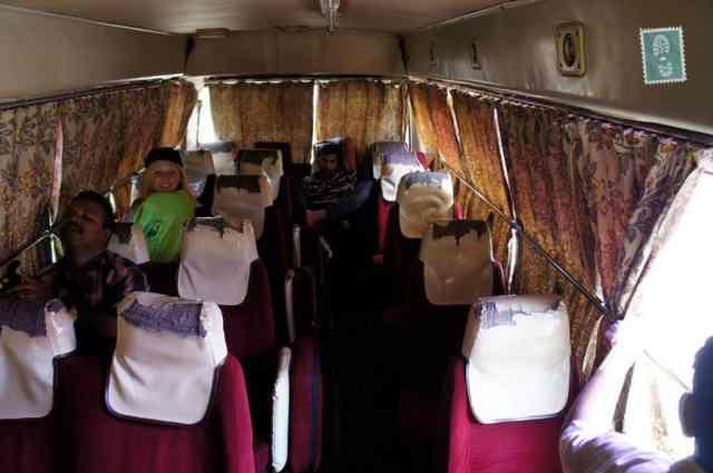Sri Lankan bus