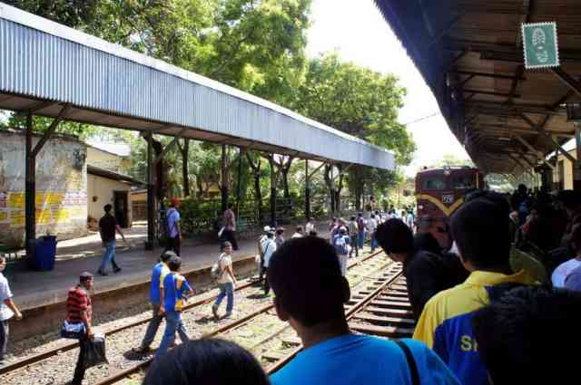 Colombo Train Station