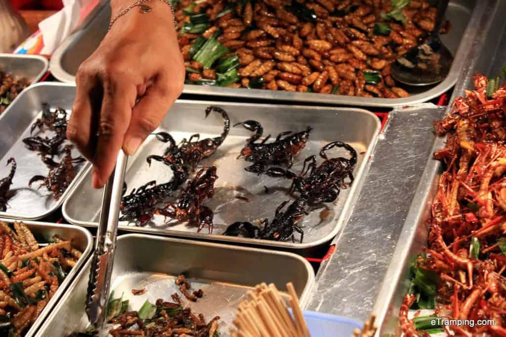Scorpions, Thai Food, Bangkok