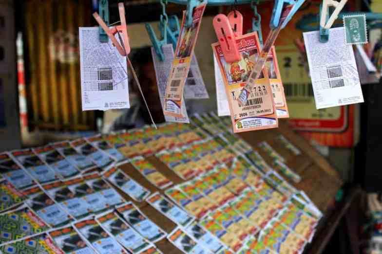Lottery tickets in Sri Lanka