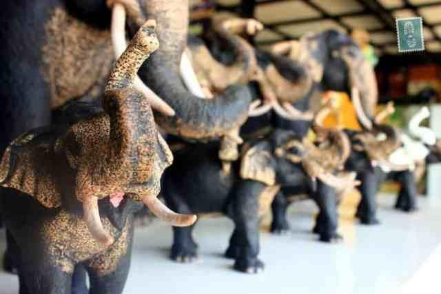 Elephant figurines, Sri Lanka