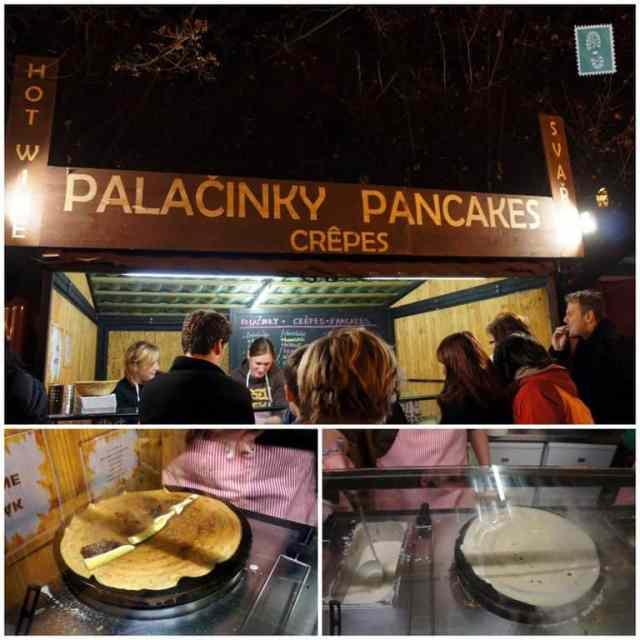 Pancake stand
