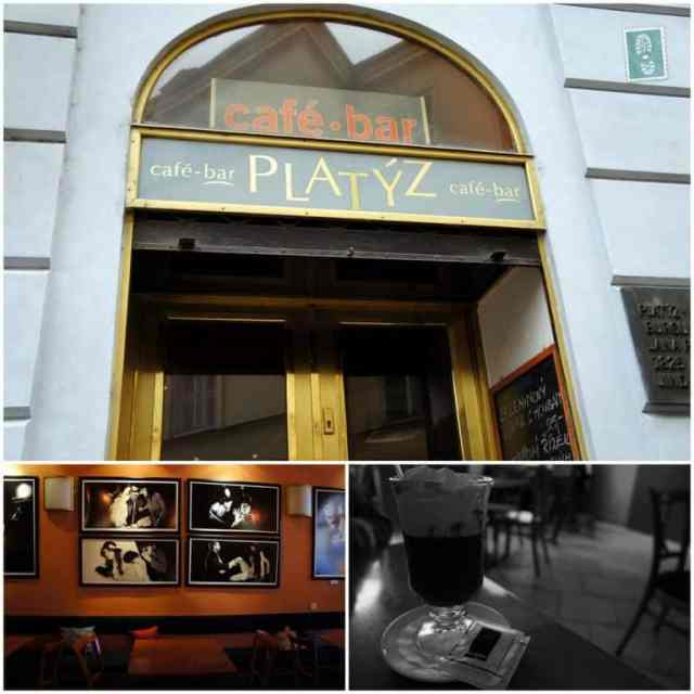 Coffee shop in Prague Platyz