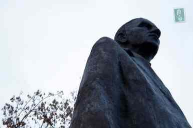 Statue of Roman Dmowski