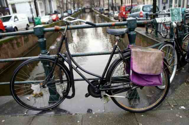 A bike in Amsterdam