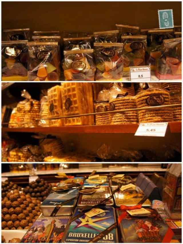 Chocolate in Brussels