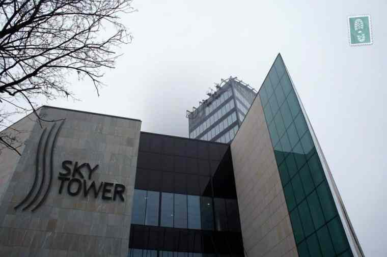 Sky Tower building, Wroclaw