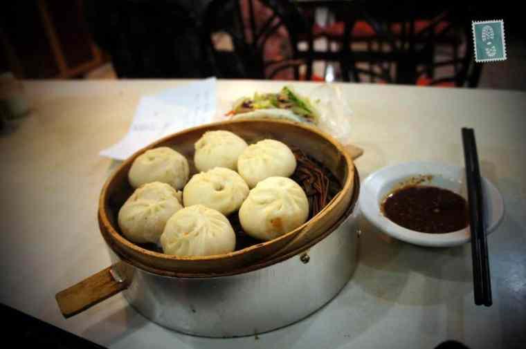 Chinese dumplings called Baozi