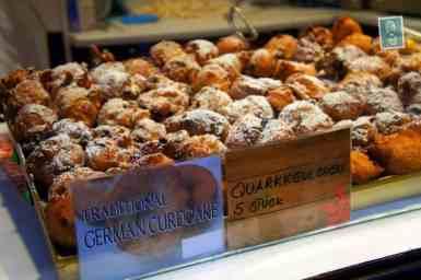 Traditional German curdcakes