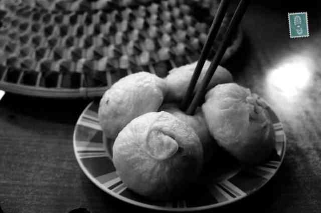 A plate of Baozi
