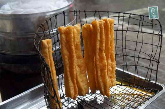 You tiao in China in the street