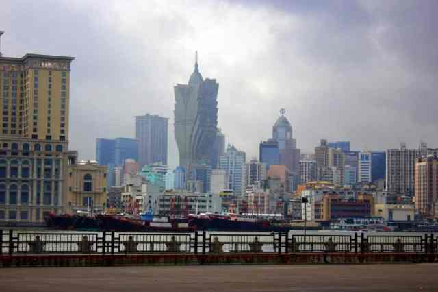 A view of Macau Island