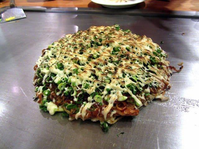 okonomiyaki, Japan