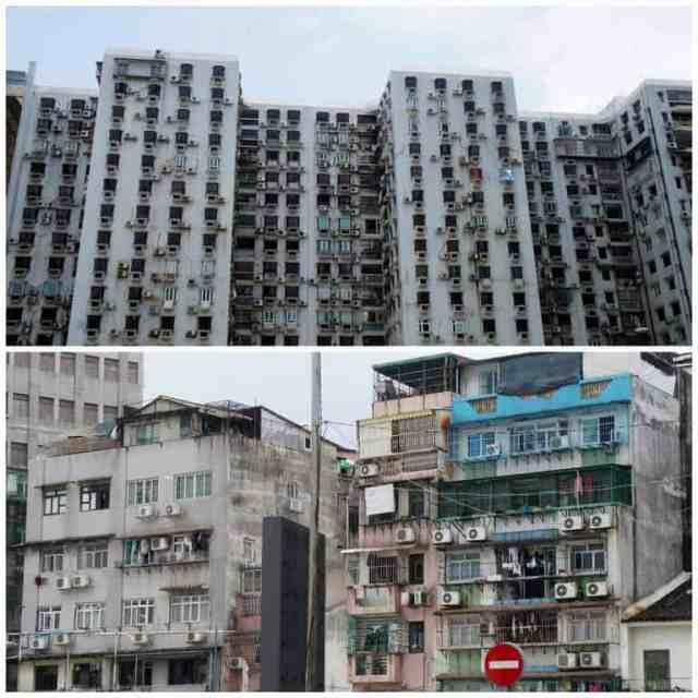 Poor area of Macau