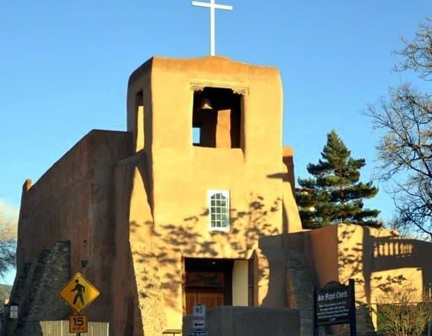 2. San Miguel Mission, The Oldest Chuirch, photo Steve Collins