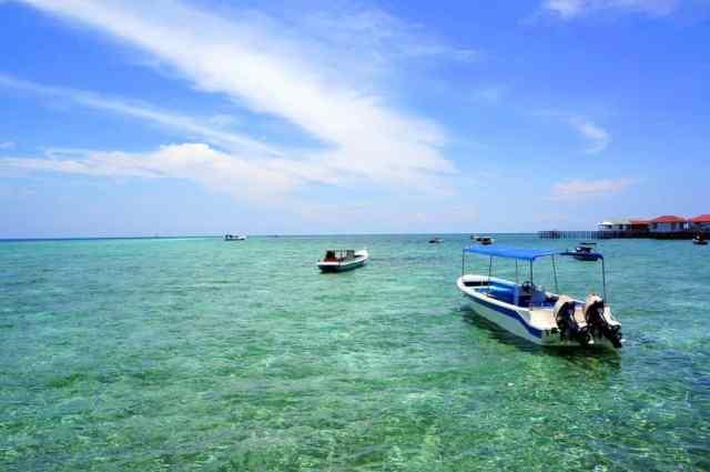 Stunning beach of Detawan