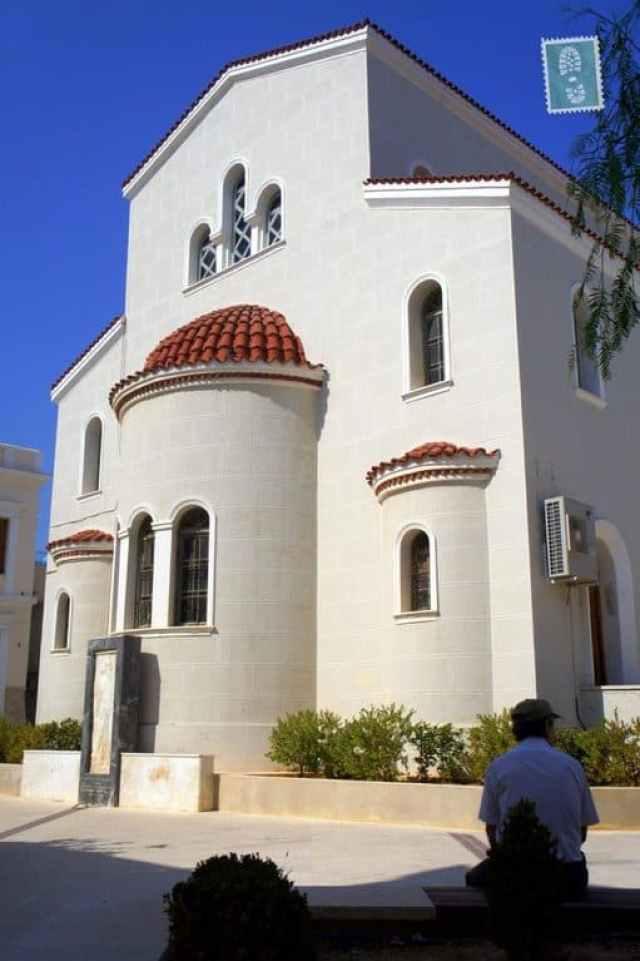 Local church in Rethymnon