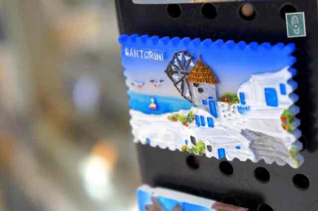 A fridge magnet in Rethymno