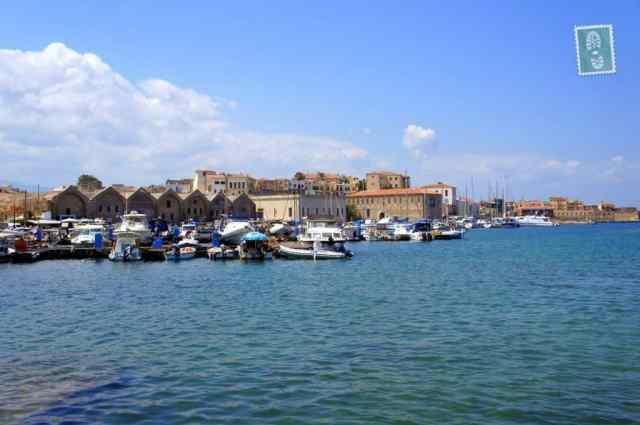 Venetian Harbour in Chania