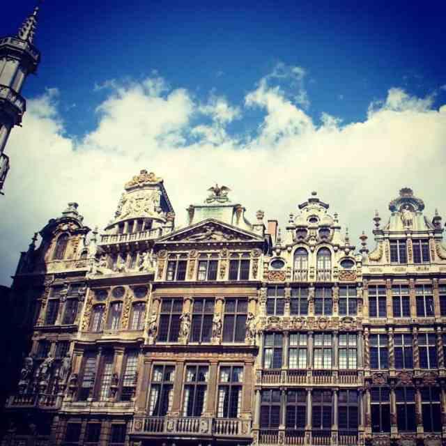 Interesting Belgian architecture
